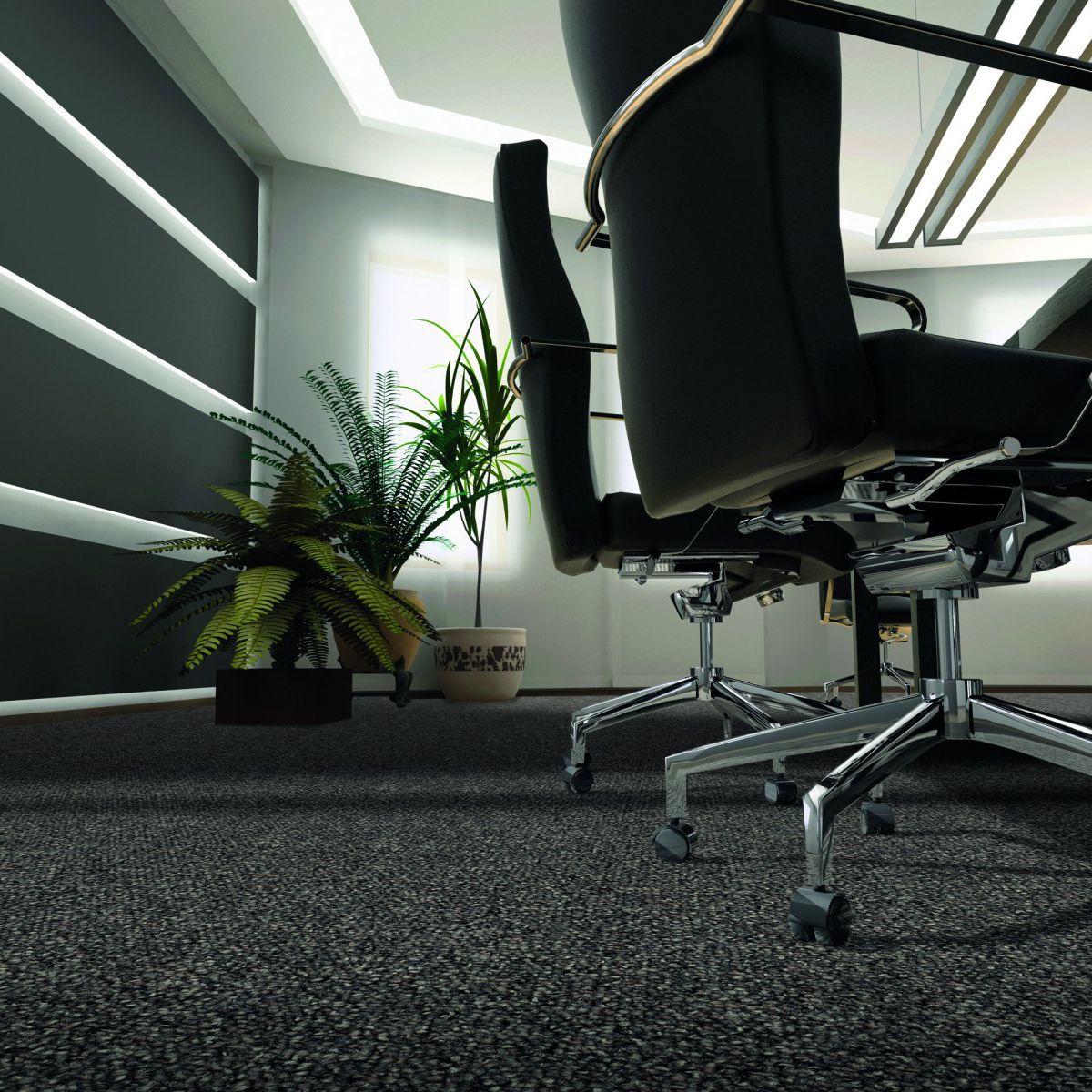 Tufted carpet / polyamide / tile / loop pile